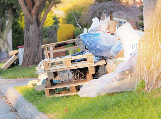 Hard rubbish collection